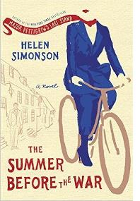 HELEN SIMONSON: THE SUMMER BEFORE THE WAR