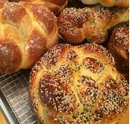 THE JOY OF CHALLAH <br />WITH BONNIE STERN AND RABBI ELYSE GOLDSTEIN