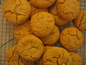 ALMOST SALTY PEANUT BUTTER COOKIES
