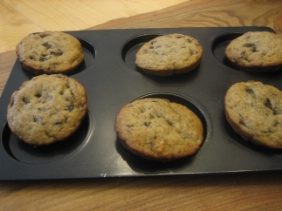 BACI BANANA MUFFIN TOPS