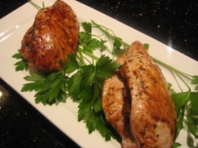 STUFFED CHICKEN BREASTS WITH DRIED FRUITS