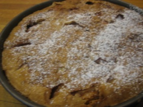 CAMILLA PLUM'S VERY GOOD APPLE CAKE