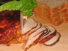 TURKEY BREAST WITH BARBECUE SAUCE