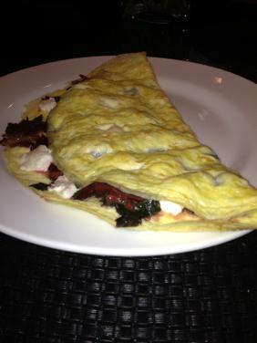 TURKISH OMELETTE WITH BEET GREENS