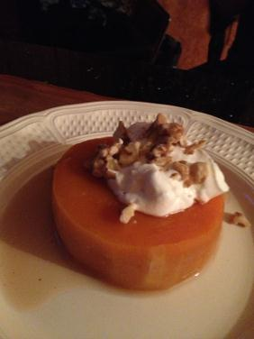 QUINCE (OR PUMPKIN) POACHED IN SPICED SYRUP