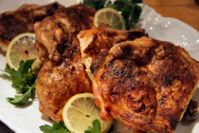 SPATCHCOCK CHICKEN WITH PAPRIKA AND OLIVE OIL