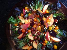 AUTUMN LEAVES THANKSGIVING SALAD
