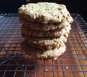 ANZAC COOKIES FOR REMEMBRANCE DAY