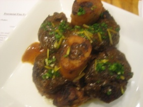 OSSO BUCCO WITH LEMON AND ORANGE