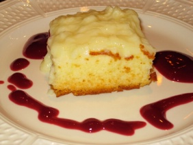 LEMON DELICIOUS PUDDING CAKE