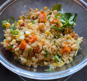 ANNA'S QUINOA SALAD FOR TRAVELLING