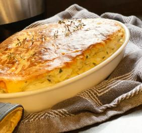 HERB AND GOAT CHEESE SOUFFLE